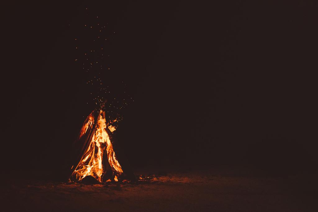fuego del solsticio de invierno