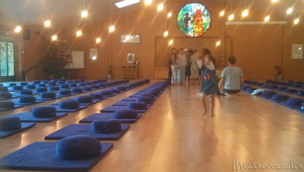 Meditation hall - Plum Village