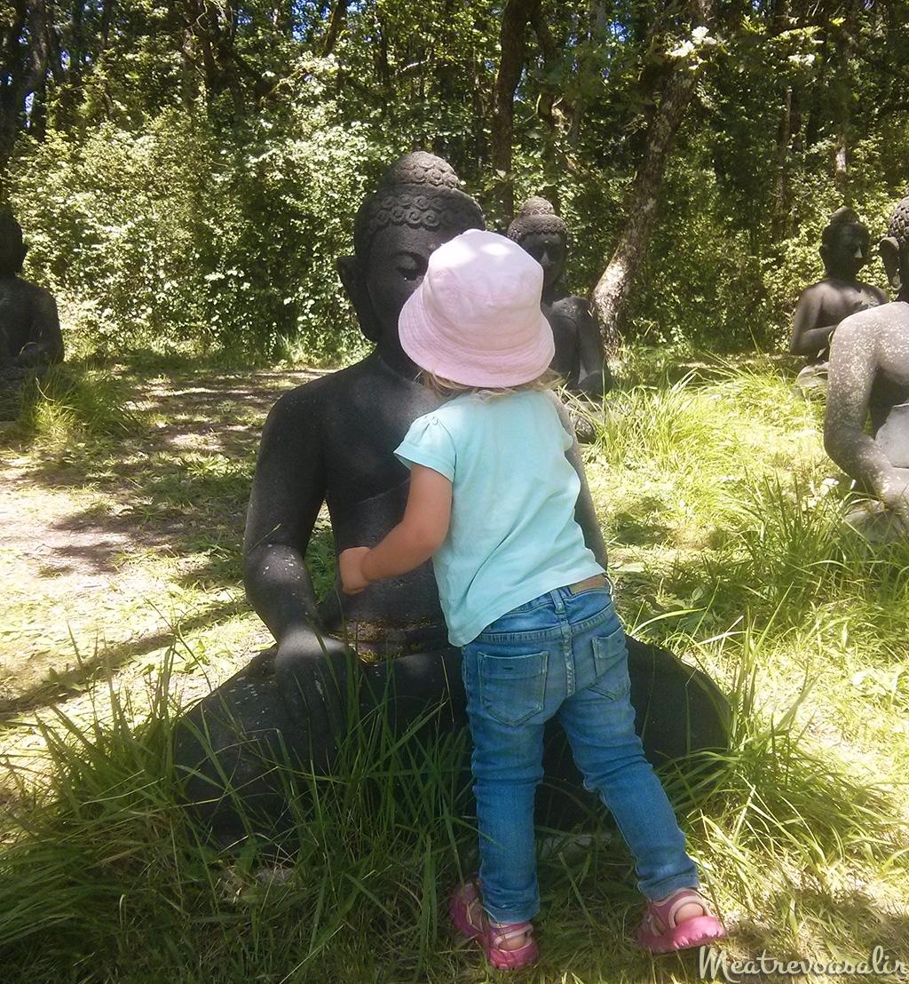 Plum Village con niños pequeños
